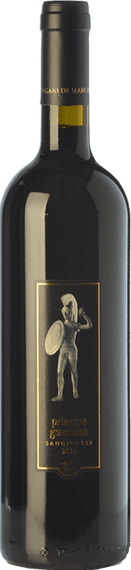 24,95 € Free Shipping | Red wine Pagani de Marchi Principe Guerriero I.G.T. Toscana Tuscany Italy Sangiovese Bottle 75 cl
