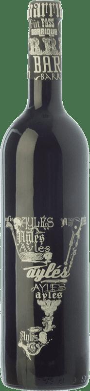 9,95 € Free Shipping | Red wine Pago de Aylés Y Barrica Joven D.O.P. Vino de Pago Aylés Aragon Spain Tempranillo, Merlot, Grenache, Cabernet Sauvignon Bottle 75 cl