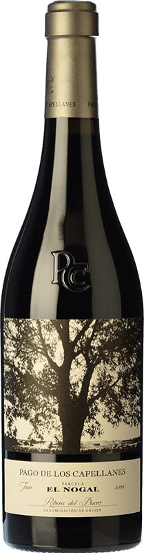 49,95 € | Red wine Pago de los Capellanes El Nogal Reserva D.O. Ribera del Duero Castilla y León Spain Tempranillo Bottle 75 cl