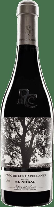 49,95 € Envoi gratuit | Vin rouge Pago de los Capellanes El Nogal Reserva D.O. Ribera del Duero Castille et Leon Espagne Tempranillo Bouteille 75 cl