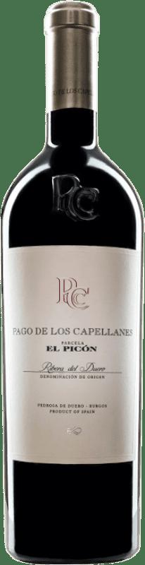 147,95 € Free Shipping | Red wine Pago de los Capellanes El Picón Reserva D.O. Ribera del Duero Castilla y León Spain Tempranillo Bottle 75 cl