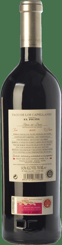 133,95 € Free Shipping   Red wine Pago de los Capellanes El Picón Reserva D.O. Ribera del Duero Castilla y León Spain Tempranillo Bottle 75 cl