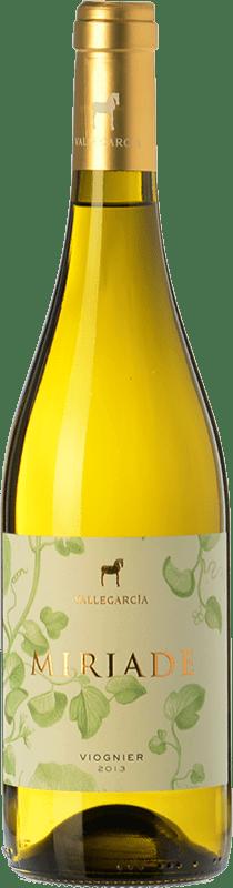 13,95 € Free Shipping | White wine Pago de Vallegarcía Miriade sobre Lías I.G.P. Vino de la Tierra de Castilla Castilla la Mancha Spain Viognier Bottle 75 cl