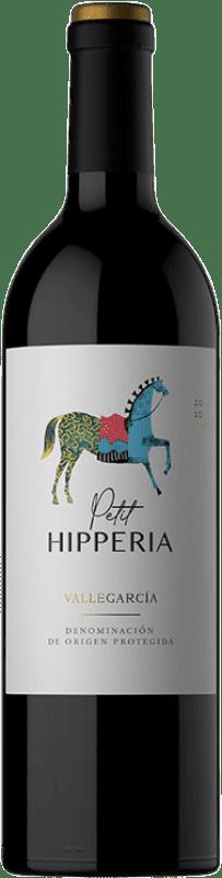 19,95 € 免费送货 | 红酒 Pago de Vallegarcía Petit Hipperia Joven I.G.P. Vino de la Tierra de Castilla 卡斯蒂利亚 - 拉曼恰 西班牙 Merlot, Syrah, Cabernet Sauvignon, Cabernet Franc, Petit Verdot 瓶子 75 cl