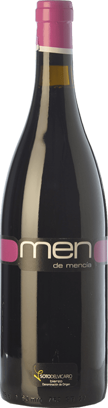 8,95 € | Red wine Pago del Vicario Men de Mencía Crianza D.O. Bierzo Castilla y León Spain Mencía Bottle 75 cl
