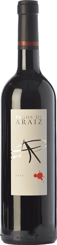 5,95 € | Red wine Pagos de Aráiz Roble D.O. Navarra Navarre Spain Tempranillo, Cabernet Sauvignon, Graciano Bottle 75 cl