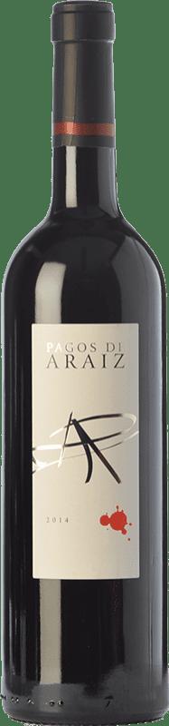 5,95 € Envoi gratuit | Vin rouge Pagos de Aráiz Roble D.O. Navarra Navarre Espagne Tempranillo, Cabernet Sauvignon, Graciano Bouteille 75 cl
