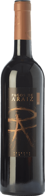 7,95 € 免费送货   红酒 Pagos de Aráiz Crianza D.O. Navarra 纳瓦拉 西班牙 Tempranillo, Merlot, Syrah, Cabernet Sauvignon 瓶子 75 cl