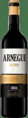 Pagos del Rey Arnegui Tempranillo Rioja Reserva 75 cl