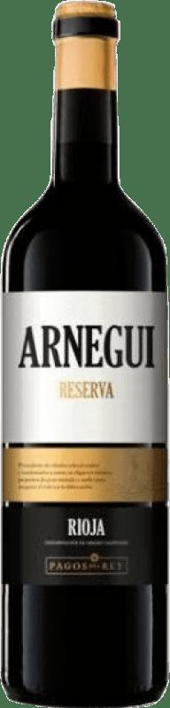 12,95 € Envoi gratuit | Vin rouge Pagos del Rey Arnegui Reserva D.O.Ca. Rioja La Rioja Espagne Tempranillo Bouteille 75 cl