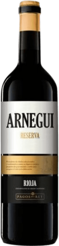 12,95 € Envío gratis | Vino tinto Pagos del Rey Arnegui Reserva D.O.Ca. Rioja La Rioja España Tempranillo Botella 75 cl