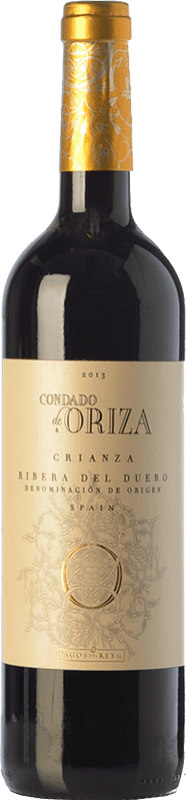9,95 € | Red wine Pagos del Rey Condado de Oriza Crianza D.O. Ribera del Duero Castilla y León Spain Tempranillo Bottle 75 cl