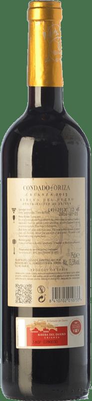 10,95 € Free Shipping   Red wine Pagos del Rey Condado de Oriza Crianza D.O. Ribera del Duero Castilla y León Spain Tempranillo Bottle 75 cl