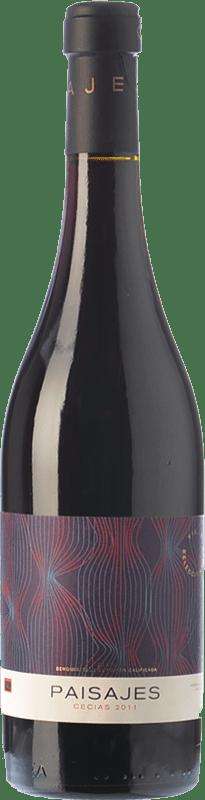 21,95 € Free Shipping | Red wine Paisajes Cecias Crianza D.O.Ca. Rioja The Rioja Spain Grenache Bottle 75 cl