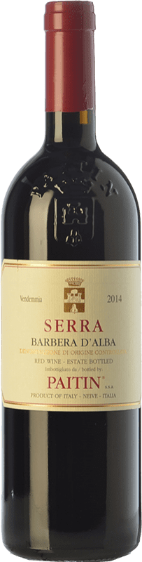 14,95 € | Red wine Paitin Serra D.O.C. Barbera d'Alba Piemonte Italy Barbera Bottle 75 cl
