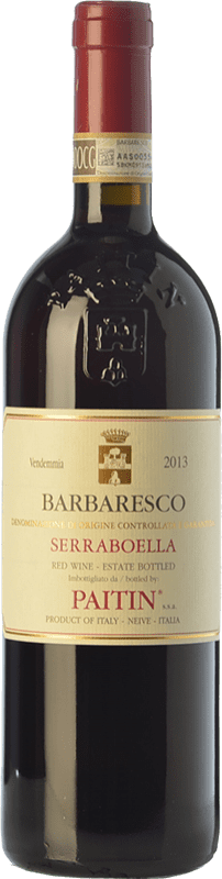 39,95 € | Red wine Paitin Serraboella D.O.C.G. Barbaresco Piemonte Italy Nebbiolo Bottle 75 cl