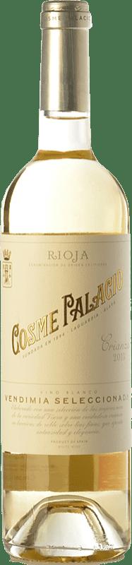 11,95 € Envoi gratuit | Vin blanc Palacio Cosme Crianza D.O.Ca. Rioja La Rioja Espagne Viura Bouteille 75 cl