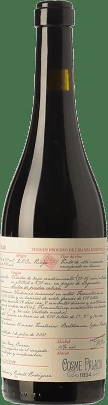 61,95 €   Red wine Palacio Cosme 1894 Reserva 2008 D.O.Ca. Rioja The Rioja Spain Tempranillo, Graciano Bottle 75 cl