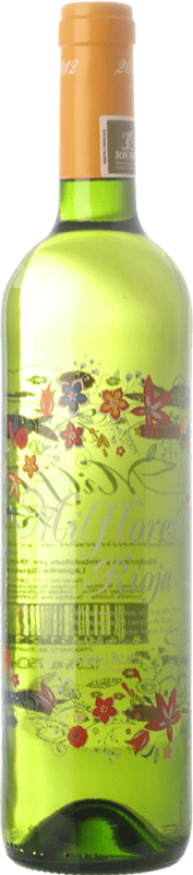 7,95 € Envoi gratuit | Vin blanc Palacio Milflores D.O.Ca. Rioja La Rioja Espagne Viura Bouteille 75 cl