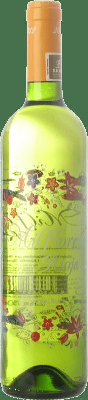 7,95 € Envío gratis | Vino blanco Palacio Milflores D.O.Ca. Rioja La Rioja España Viura Botella 75 cl