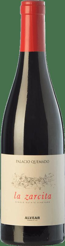 13,95 € 免费送货 | 红酒 Palacio Quemado La Zarcita Joven I.G.P. Vino de la Tierra de Extremadura 埃斯特雷马杜拉 西班牙 Grenache Tintorera, Touriga Nacional, Tinta Amarela 瓶子 75 cl