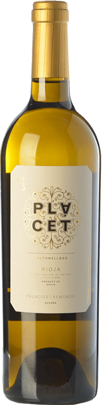 46,95 € Free Shipping | White wine Palacios Remondo Plácet Valtomelloso Crianza D.O.Ca. Rioja The Rioja Spain Viura Magnum Bottle 1,5 L