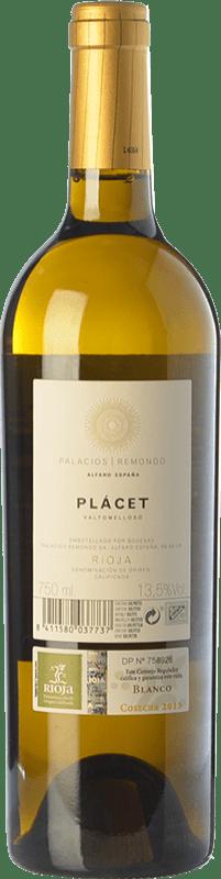 24,95 € Free Shipping | White wine Palacios Remondo Plácet Valtomelloso Crianza D.O.Ca. Rioja The Rioja Spain Viura Magnum Bottle 1,5 L