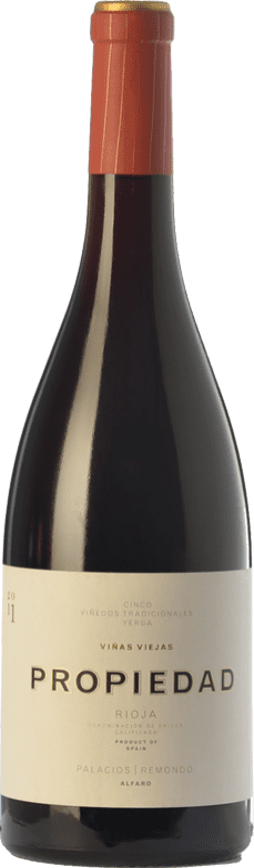 31,95 € Envío gratis | Vino tinto Palacios Remondo Propiedad Crianza D.O.Ca. Rioja La Rioja España Garnacha Botella 75 cl