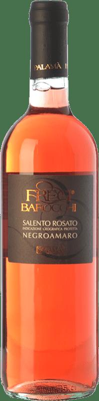 7,95 € | Rosé wine Palamà Fregi Barocchi Rosato I.G.T. Salento Campania Italy Negroamaro Bottle 75 cl