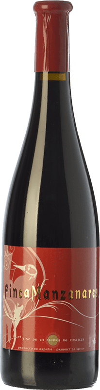6,95 € Free Shipping | Red wine Palarea Finca Manzanares Crianza I.G.P. Vino de la Tierra de Castilla Castilla la Mancha Spain Merlot, Syrah, Cabernet Sauvignon Bottle 75 cl
