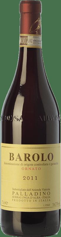 42,95 € | Red wine Palladino Ornato D.O.C.G. Barolo Piemonte Italy Nebbiolo Bottle 75 cl