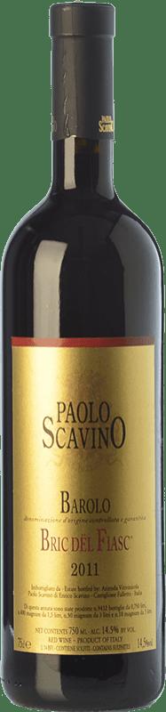 123,95 € Free Shipping | Red wine Paolo Scavino Bric del Fiasc D.O.C.G. Barolo Piemonte Italy Nebbiolo Bottle 75 cl