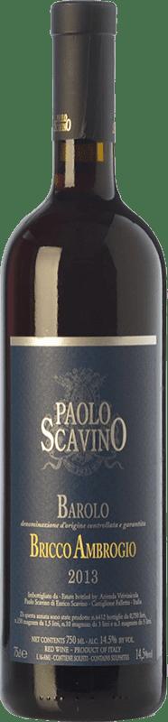 85,95 € Free Shipping | Red wine Paolo Scavino Bricco Ambrogio D.O.C.G. Barolo Piemonte Italy Nebbiolo Bottle 75 cl