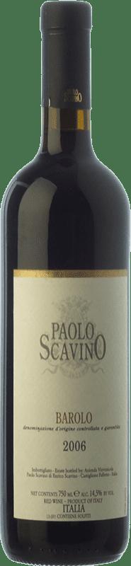 46,95 €   Red wine Paolo Scavino Crianza 2006 D.O.C.G. Barolo Piemonte Italy Nebbiolo Bottle 75 cl