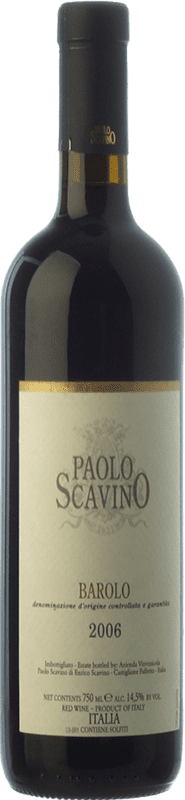 46,95 € Free Shipping | Red wine Paolo Scavino Crianza D.O.C.G. Barolo Piemonte Italy Nebbiolo Bottle 75 cl