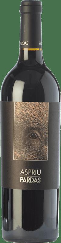 31,95 € | Red wine Pardas Aspriu Crianza D.O. Penedès Catalonia Spain Cabernet Sauvignon, Cabernet Franc Bottle 75 cl