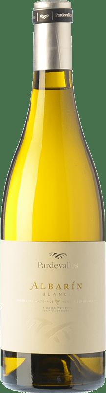 8,95 € Envío gratis | Vino blanco Pardevalles D.O. León Castilla y León España Albarín Botella 75 cl
