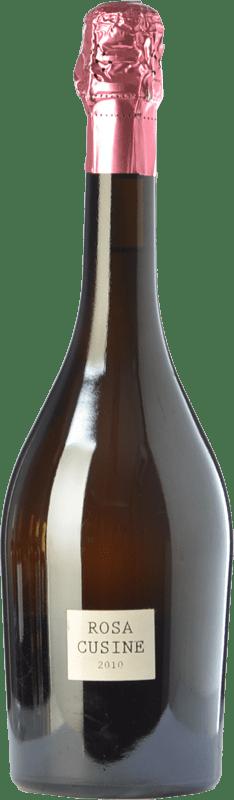 29,95 € | Rosé sparkling Parés Baltà Rosa Cusiné Reserva D.O. Cava Catalonia Spain Grenache Bottle 75 cl