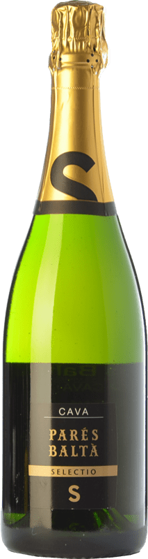 14,95 € 免费送货 | 白起泡酒 Parés Baltà Selectio 香槟 Reserva D.O. Cava 加泰罗尼亚 西班牙 Macabeo, Xarel·lo, Chardonnay, Parellada 瓶子 75 cl