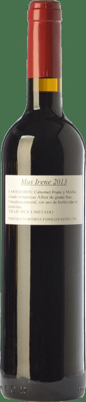 21,95 € Envoi gratuit | Vin rouge Parés Baltà Mas Irene Crianza D.O. Penedès Catalogne Espagne Merlot, Cabernet Franc Bouteille 75 cl