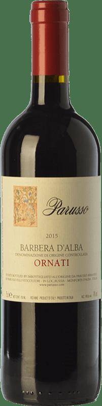 16,95 € | Red wine Parusso Ornati D.O.C. Barbera d'Alba Piemonte Italy Barbera Bottle 75 cl