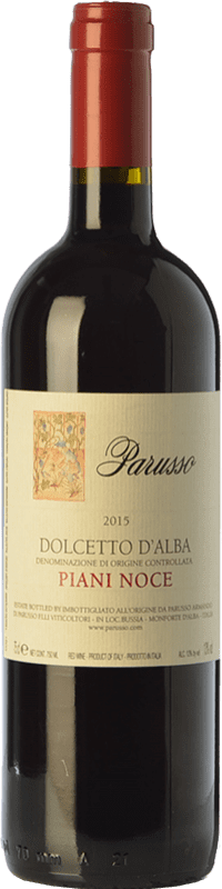 12,95 € | Red wine Parusso Piani Noce D.O.C.G. Dolcetto d'Alba Piemonte Italy Dolcetto Bottle 75 cl