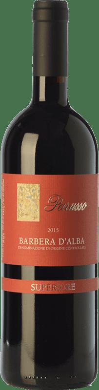 35,95 € | Red wine Parusso Superiore D.O.C. Barbera d'Alba Piemonte Italy Barbera Bottle 75 cl