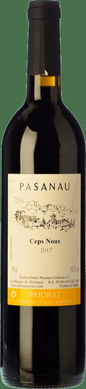 18,95 € | Red wine Pasanau Ceps Nous Joven D.O.Ca. Priorat Catalonia Spain Merlot, Syrah, Grenache, Cabernet Sauvignon, Carignan Bottle 75 cl