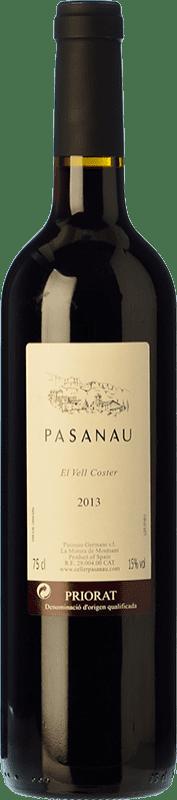 45,95 € Free Shipping | Red wine Pasanau El Vell Coster Reserva D.O.Ca. Priorat Catalonia Spain Grenache, Cabernet Sauvignon, Carignan Bottle 75 cl