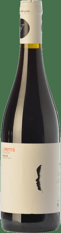 9,95 € Free Shipping | Red wine Pascona Lo Petitó Joven D.O. Montsant Catalonia Spain Merlot, Syrah Bottle 75 cl