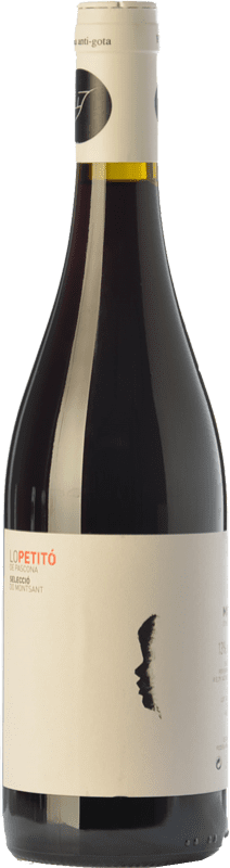 9,95 € Envío gratis | Vino tinto Pascona Lo Petitó Joven D.O. Montsant Cataluña España Merlot, Syrah Botella 75 cl