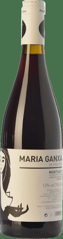 12,95 € Envío gratis | Vino tinto Pascona Maria Ganxa Joven D.O. Montsant Cataluña España Cariñena Botella 75 cl
