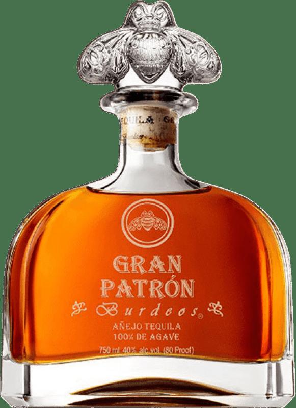 673,95 € Free Shipping | Tequila Patrón Gran Burdeos Mexico Bottle 70 cl
