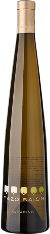 18,95 € Envoi gratuit | Vin blanc Pazo Baión D.O. Rías Baixas Galice Espagne Albariño Bouteille 75 cl